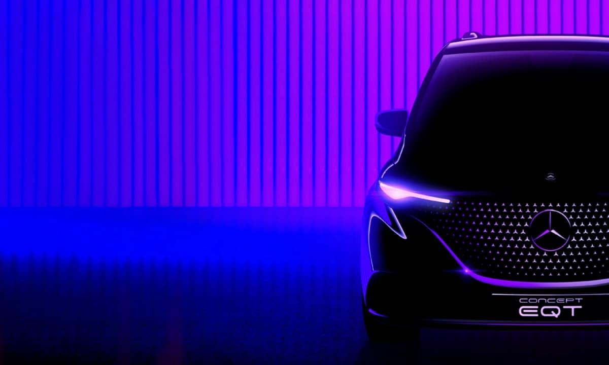 Mercedes EQT Concept teaser