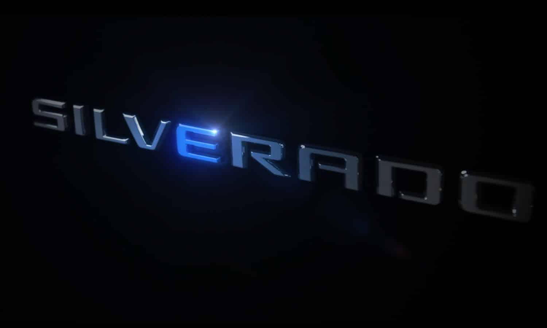 New Chevrolet Silverado E Teaser