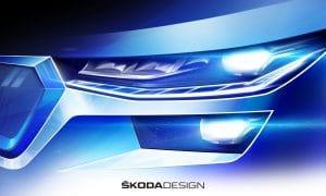 Skoda Kodiaq 2021 Sketch