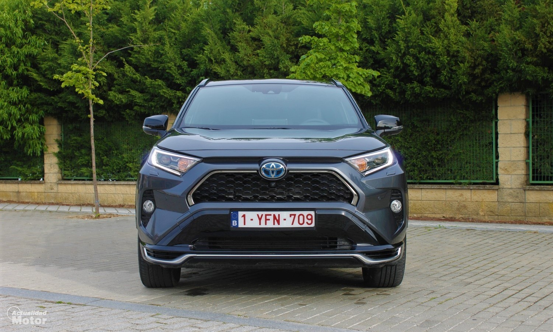 Frontal del Toyota RAV4 Plug-in Hybrid