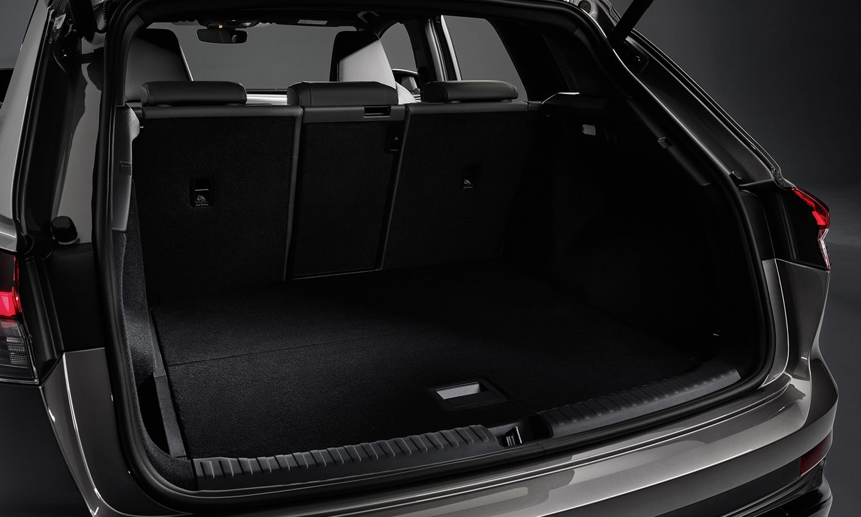 Audi Q4 e-tron maletero