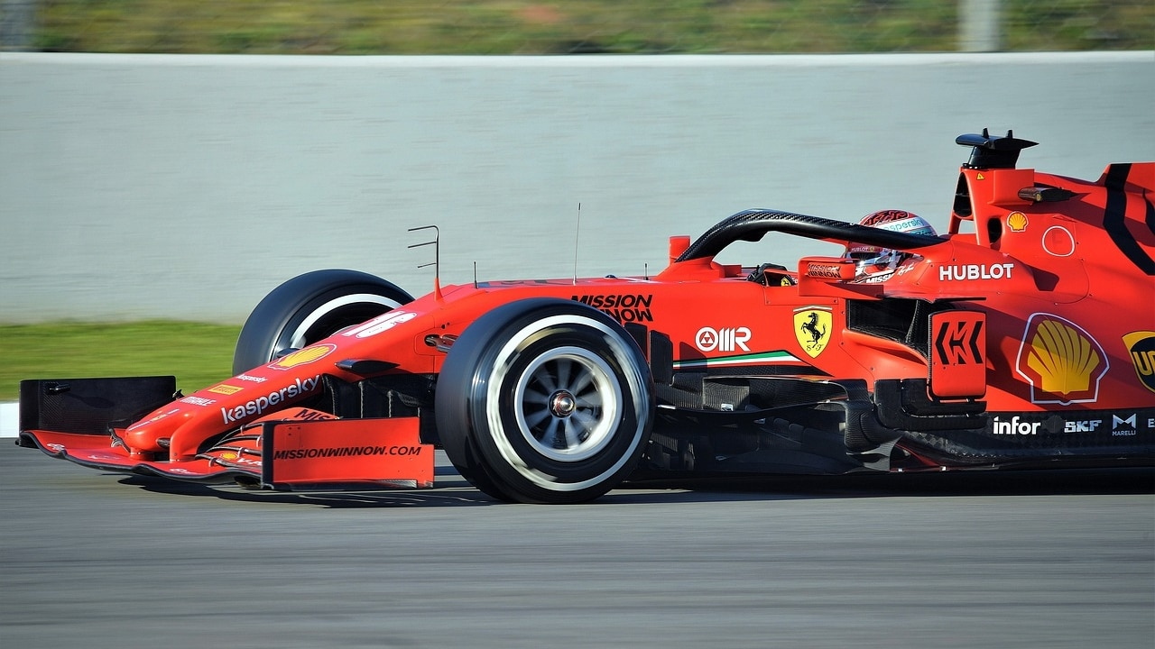 GP de Imola F1 2021 Ferrari