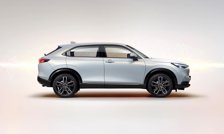Honda HR-V híbrido lateral