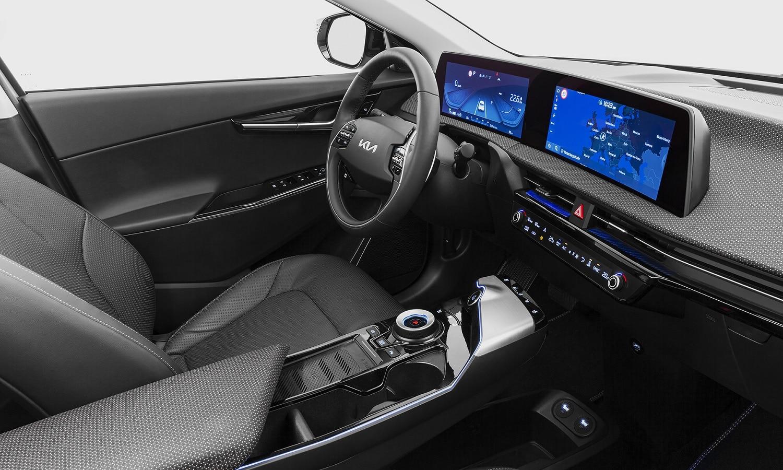 Interior del Kia EV6