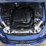 Mercedes CLS motor