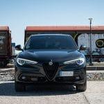 Prueba Alfa Romeo Stelvio Veloce delantera