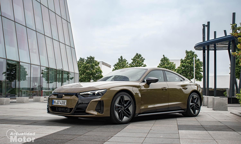Prueba Audi RS e-tron GT