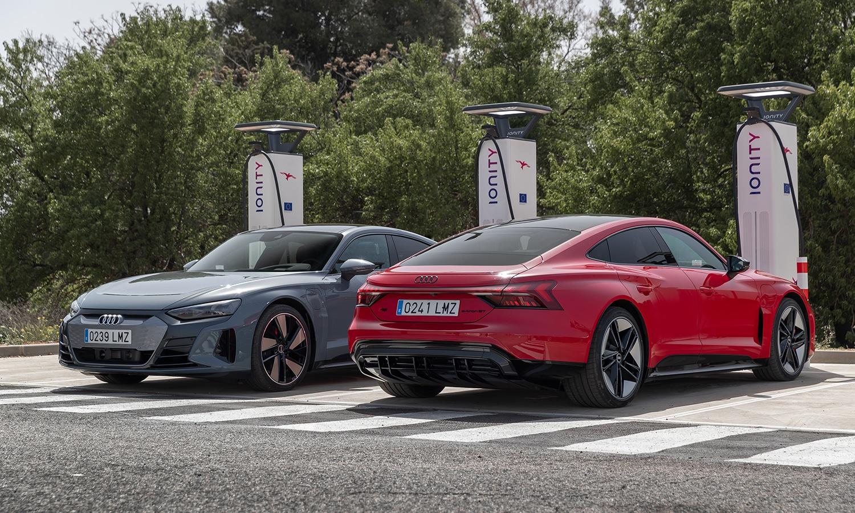 Prueba Audi e-tron GT eléctrico