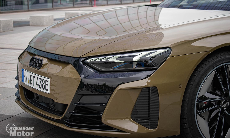 Prueba Audi RS e-tron GT eléctrico