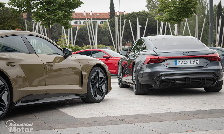 Prueba Audi RS e-tron GT trasera