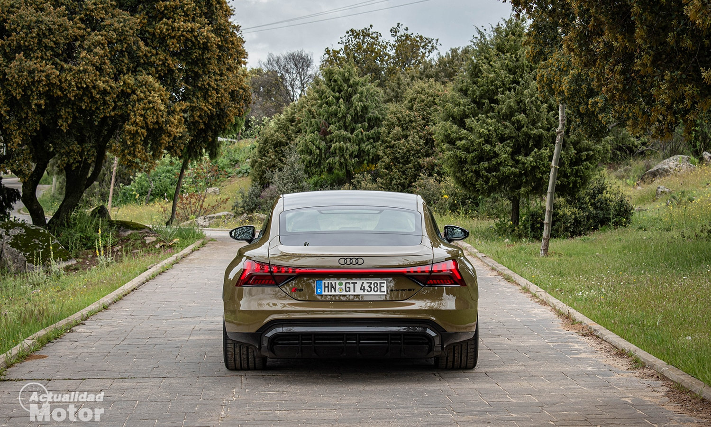 Prueba Audi RS e-tron GT parte trasera