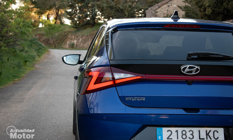 Prueba Hyundai i20 luces traseras