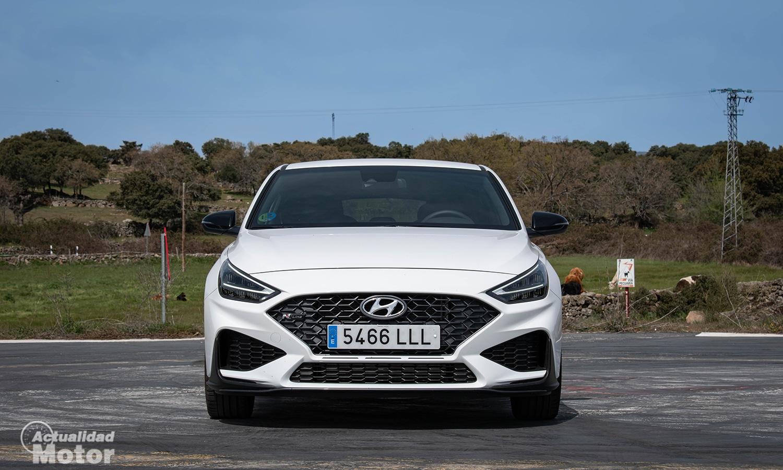 Prueba Hyundai i30 N Line frontal