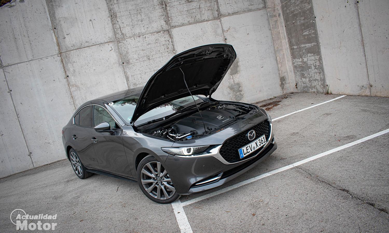 Prueba Mazda3 e-Skyactiv X 186 CV