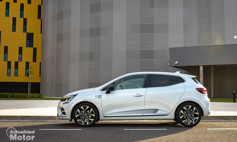 Prueba Renault Clio E-Tech lateral