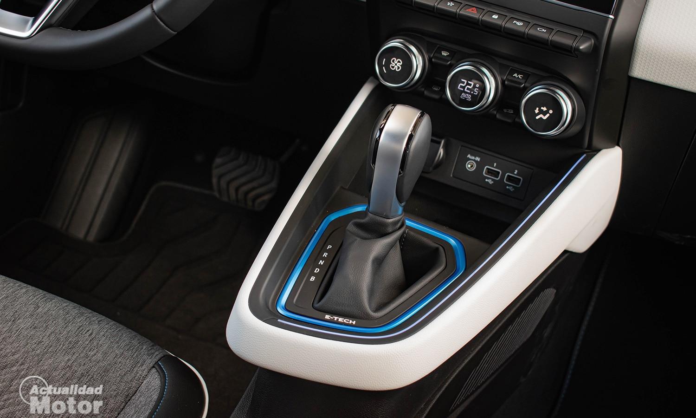 Prueba Renault Clio híbrido cambio automático