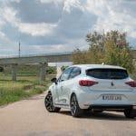 Prueba Renault Clio perfil trasero