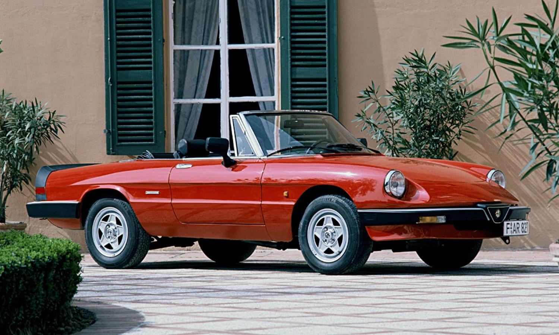 Alfa Romeo Spider 1983 - 1989