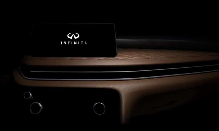 Infiniti QX60 - Interior teaser