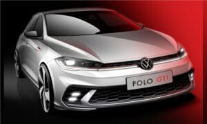 New Volkswagen Polo GTI front teaser