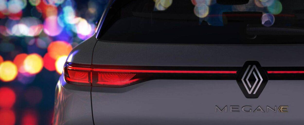 Renault Megane E-Tech Electric 2022 teaser