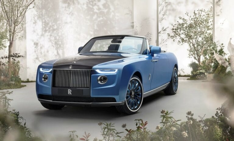 Rolls Royce Boat Tail one-off