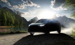 Subaru Solterra front teaser