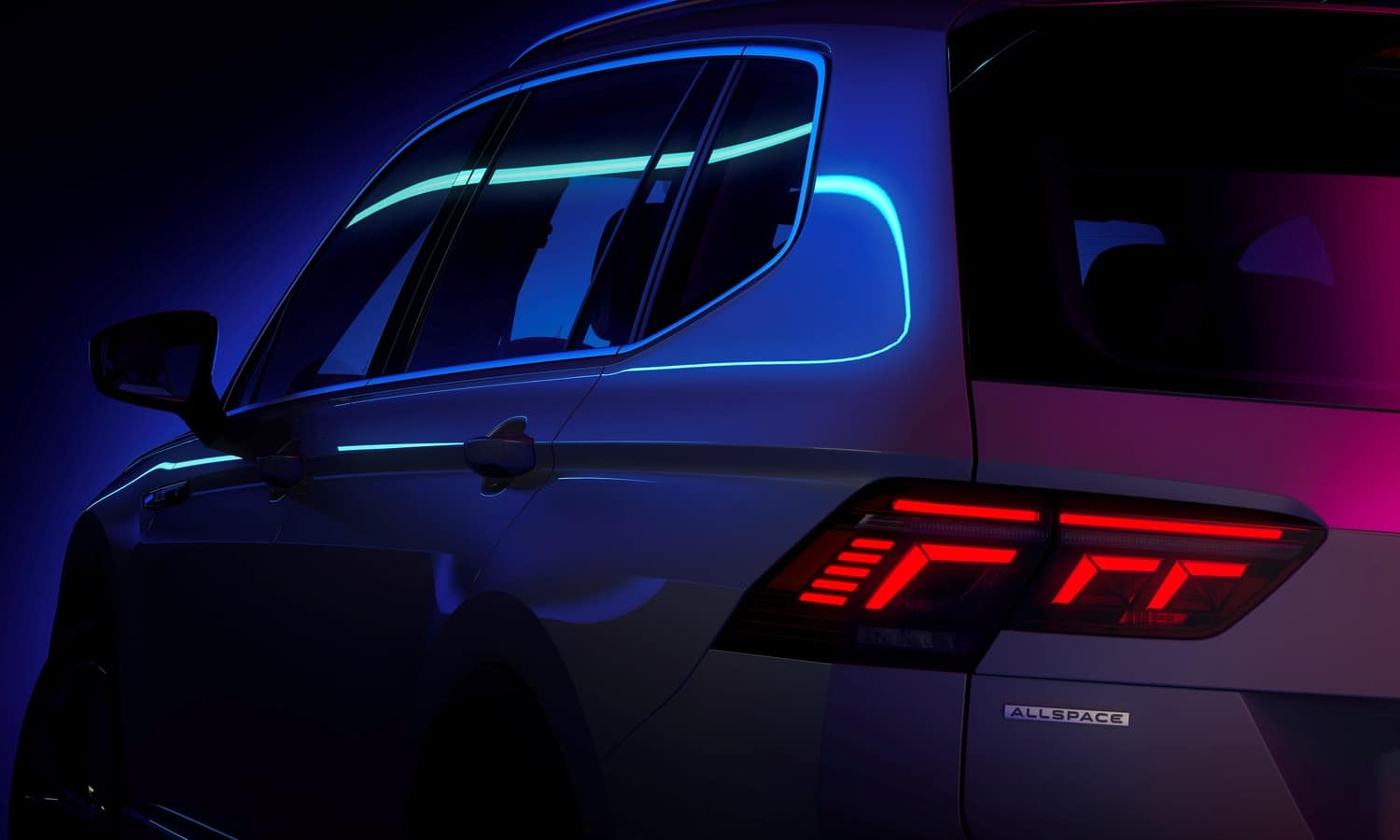 The new Volkswagen Tiguan Allspace is gearing up for its world premiere