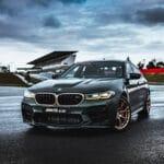BMW M5 CS perfil