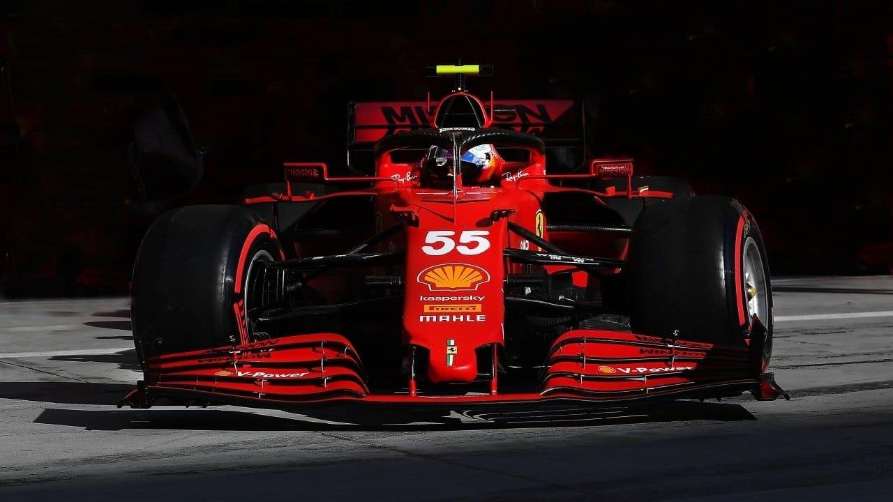 Carlos Sainz F1 Ferrari