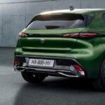 Peugeot 308 trasera 2021