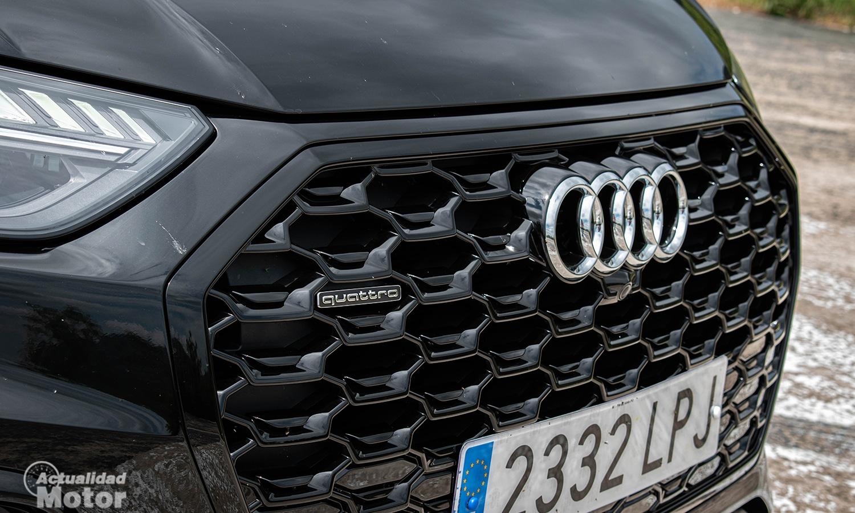 Prueba Audi Q5 Sportback parrilla black line