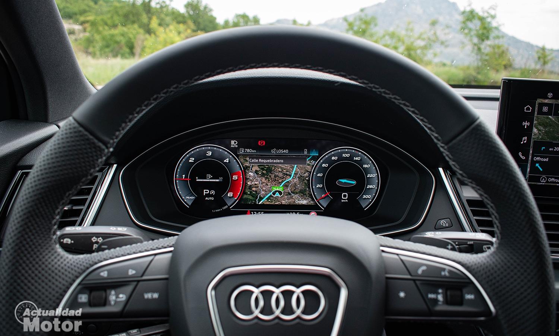 Prueba Audi Q5 Sportback virtual cockpit