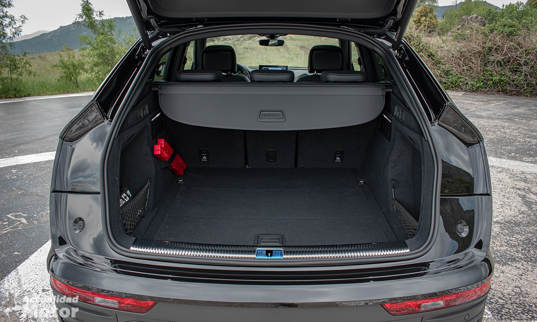 Prueba Audi Q5 Sportback tamaño maletero