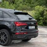 Prueba Audi Q5 Sportback trasera