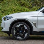 Prueba BMW iX3 llantas aerodinámicas
