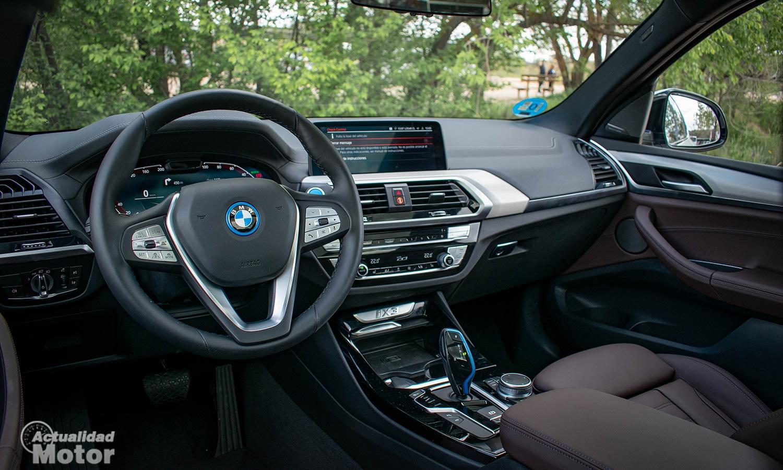 Prueba BMW iX3 interior