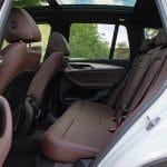 Prueba BMW iX3 plazas traseras