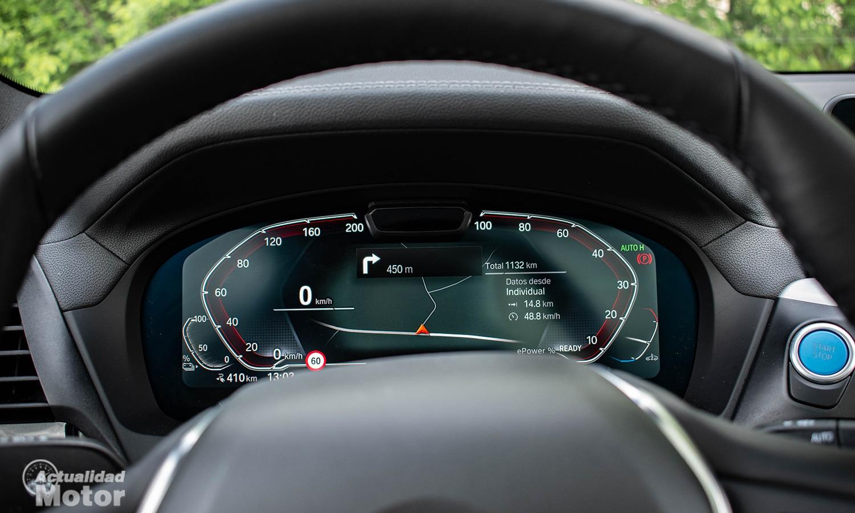 Prueba BMW iX3 cuadro instrumentos digital