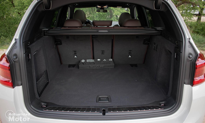 Prueba BMW iX3 maletero