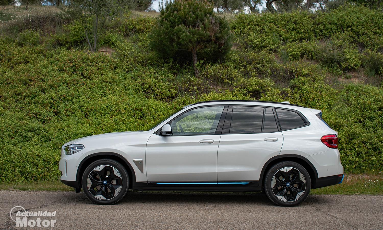 Prueba BMW iX3 lateral