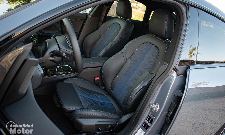 Prueba BMW Serie 2 Gran Coupé asientos deportivos