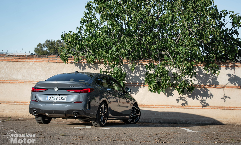 BMW Serie 2 GC perfil trasero