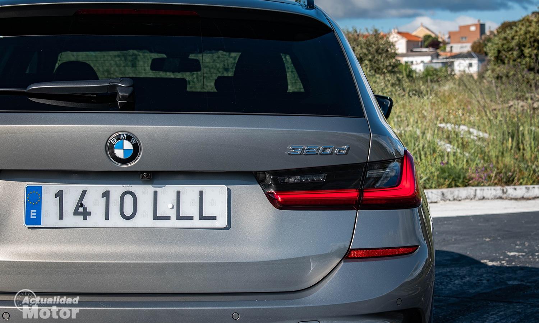 Prueba BMW Serie 3 Touring 320d piloto LED
