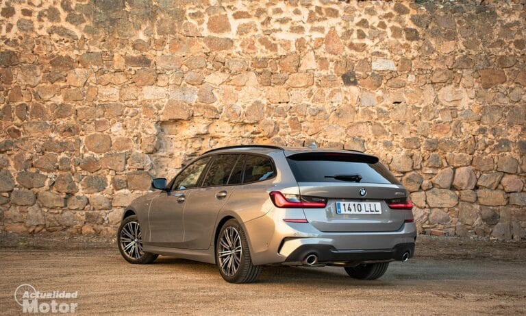 Prueba BMW Serie 3 Touring 320d G21