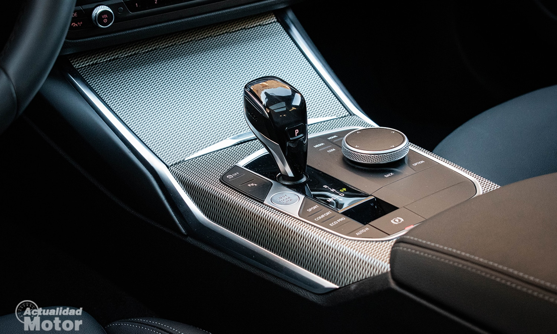 Prueba BMW Serie 3 Touring consola central