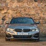 Prueba BMW Serie 3 Touring frontal