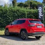 Prueba Jeep Compass 2021 trasera