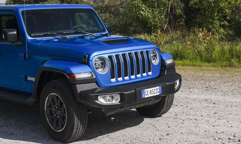 Prueba Jeep Gladiator delantera