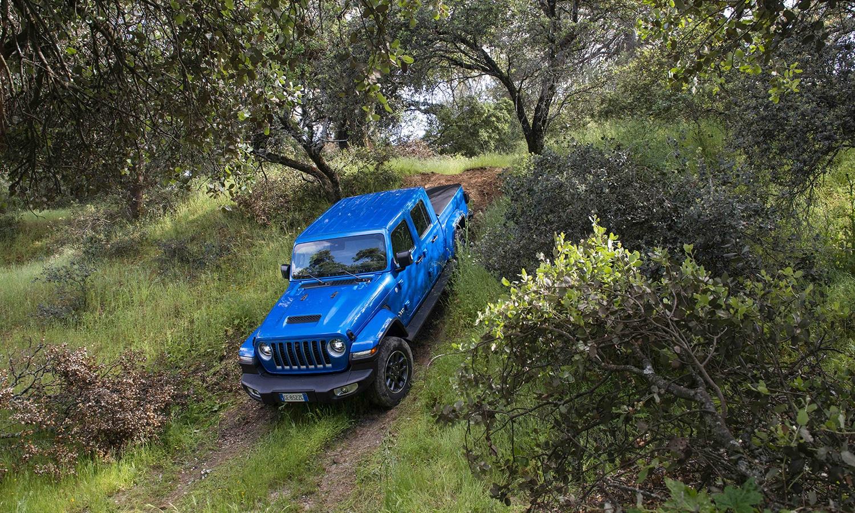 Prueba Jeep Gladiator pick-up
